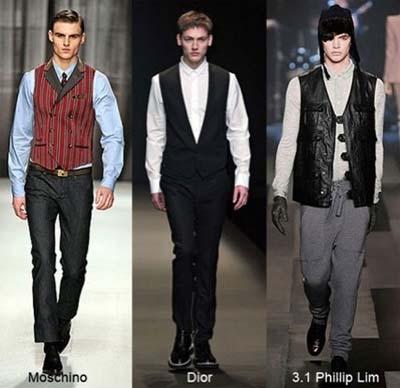 Модные мужские жилеты