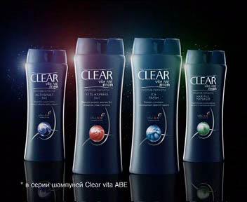 Мужской шампунь Clear Vita ABE Men