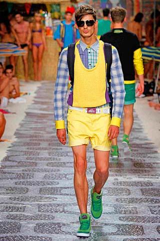 Модные мужские шорты фото