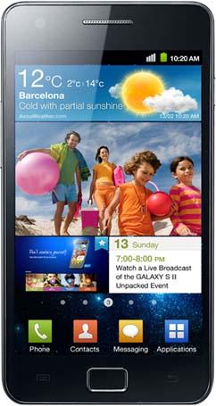 Samsung Galaxy S II фото