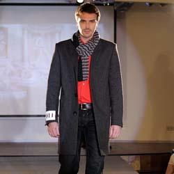 мужские шапки и шарфы к пальто