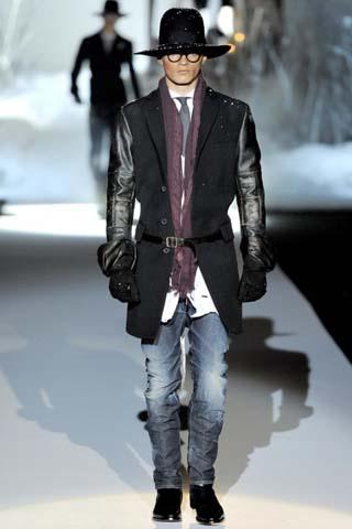 Мужское пальто 2011-2012