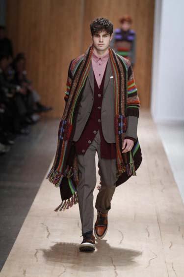 Мужская мода осень 2011 Frankie Morello