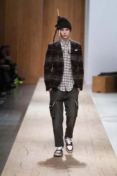 Мужская одежда осень 2011