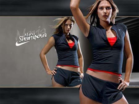 Мария Шарапова в Nike