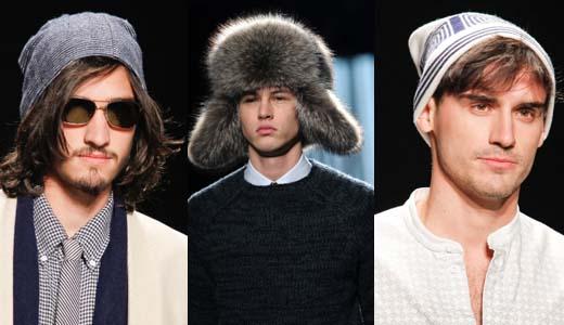 Мужские шапки 2012