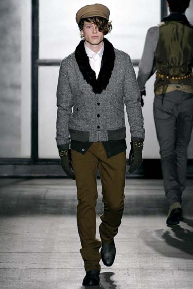 Мужская мода зима 2012 фото