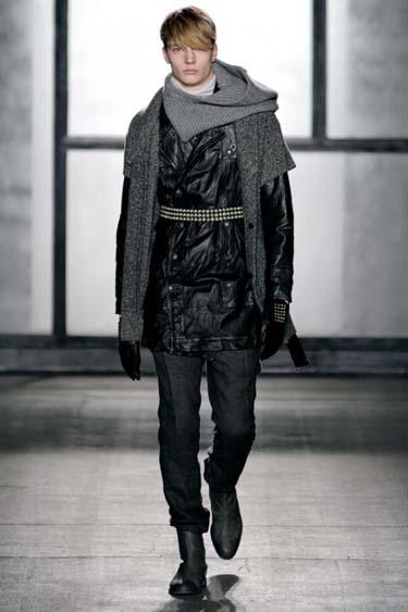 Мужская мода осень зима 2012