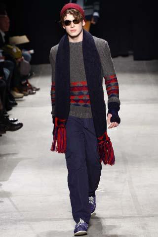 стильные мужские шапки 2012