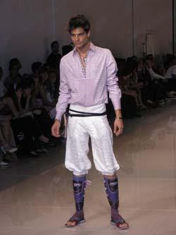 мужской авангардный стиль