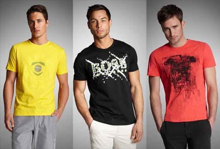 Модные мужские футболки