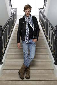 Модные мужские джинсы 2012