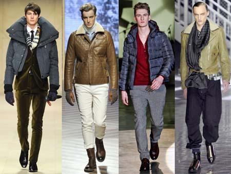 Модные мужские зимние куртки 2013