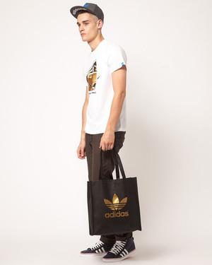 Мужская сумка adidas tote