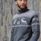 Писк мужской моды 2019 свитера с оленями
